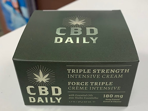 CBD Triple Strength Cream 180mg