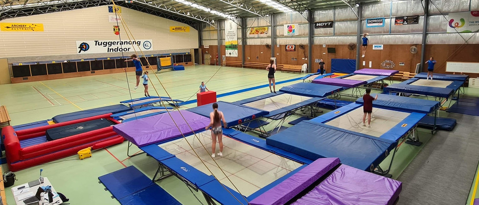 Canberra Trampoline Gymnastics Club