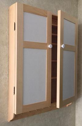 Pine Spice Cabinet