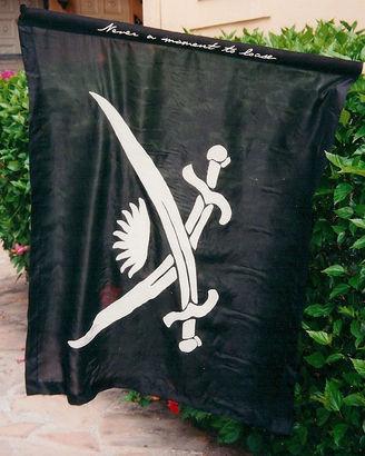 China Silk Pirate Flag