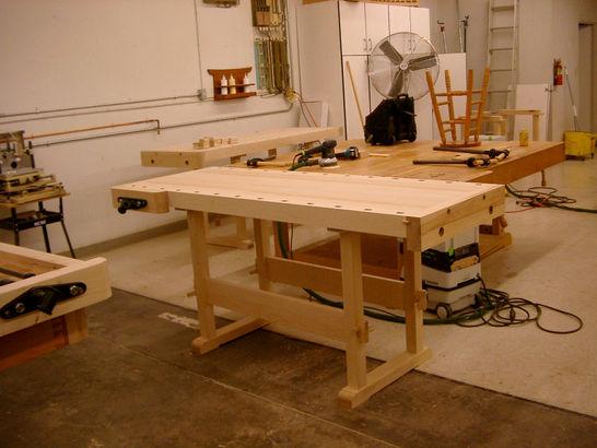 Maple Work Bench