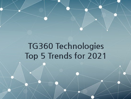 TG360 Top 5 Trends for 2021