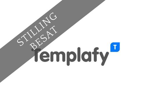 Senior Software Engineer for Templafy