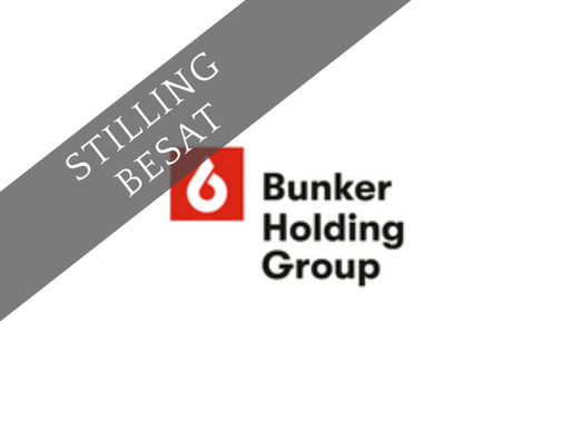 User Adoption Lead, Bunker Holding IT Group