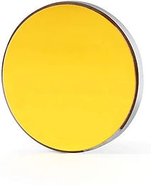 TEN-HIGH 3 Pieces Silicon Reflective Mirrors for CO2 Laser Cutting