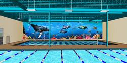 American Swim Academy Pool Area