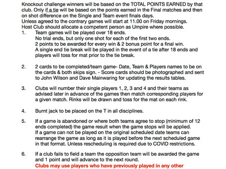 Quad Club KO Challenge Rules