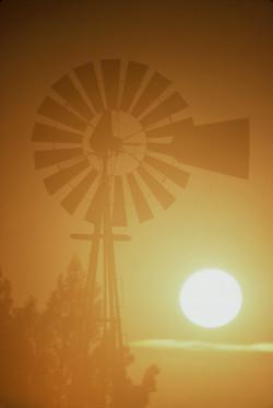 Windmill SoCal-Sunset