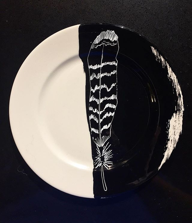 #feather #plateart
