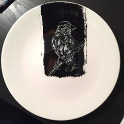 #bird #plateart. On sale at www.dozfy.net