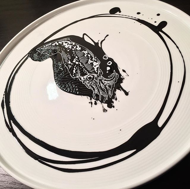 #squid #plateart for #chicago _steeliteusa