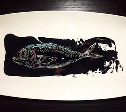 #fish #plateart for #chicago _steeliteusa
