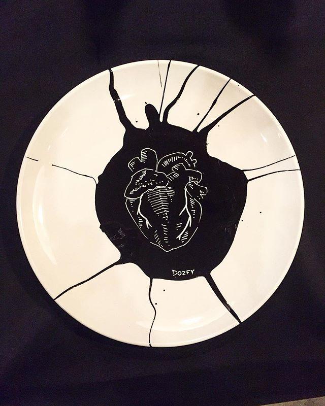 #heart #plateart