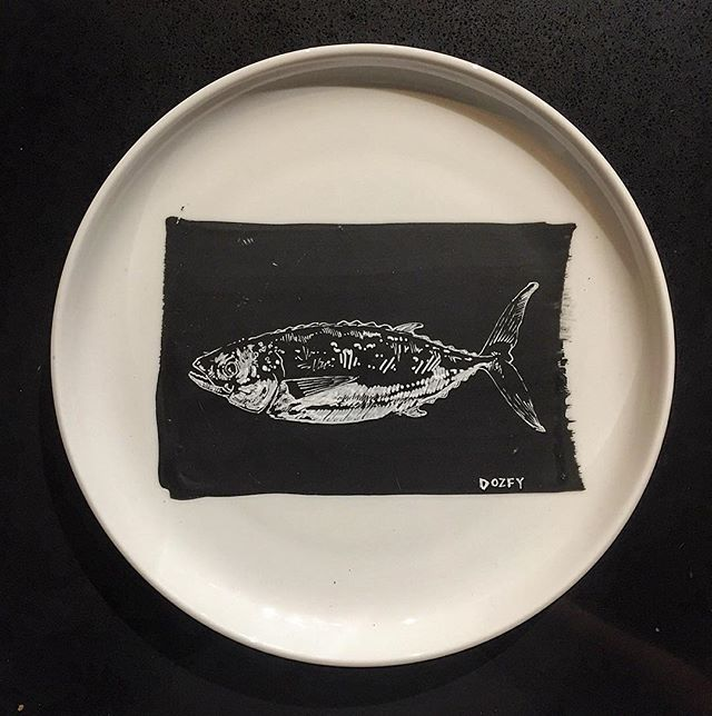 #fish #plateart for _brimmerandheeltap