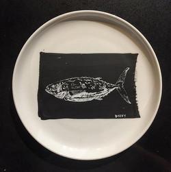 #fish #plateart for _brimmerandheeltap