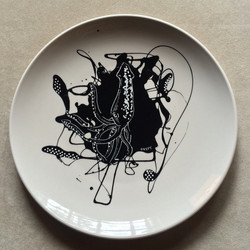 #plateart. Keep swiping_ #squid, #elephant, #elephant, #rooster, #peppers