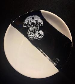 #mushroom #plateart for _brimmerandheeltap. Inspired by _reneredzepinoma