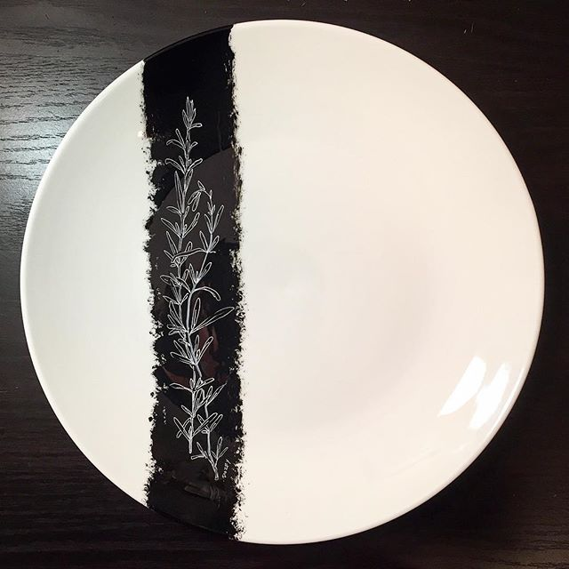 #rosemary #plateart for _restaurantfinistere