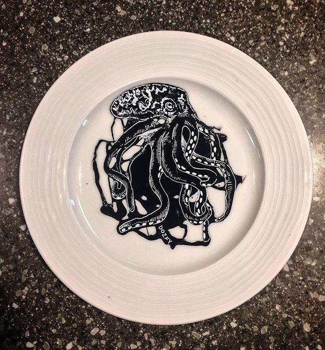 #octopus #plateart
