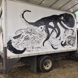 _hamahamaoysters #truck #mural