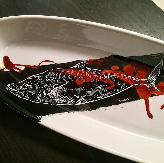 #mackeral #plateart for _steeliteusa in #washingtonDC