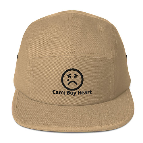 """Can't Buy Heart"" Five Panel Cap"