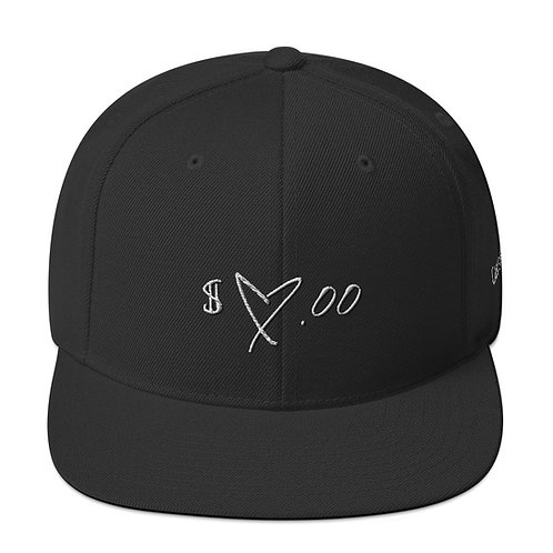 """Can't Buy Heart Snapback Hat"