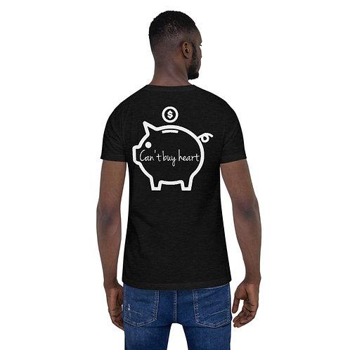 """""""Can't Buy Heart Piggy Bank"""" Short-Sleeve Unisex T-Shirt"""