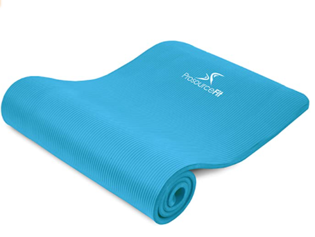 Best Yoga Mat Reviews   ProsourceFit Extra Thick Yoga Pilates Exercise Mat