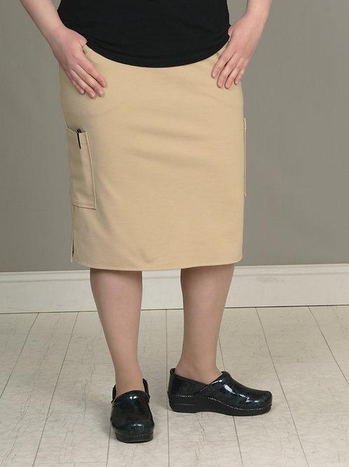 Khaki OMNi Skirt