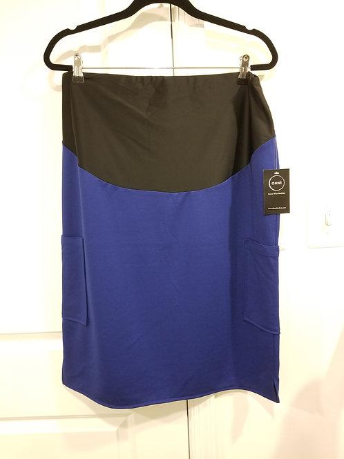 Galaxy Blue Maternity Skirt