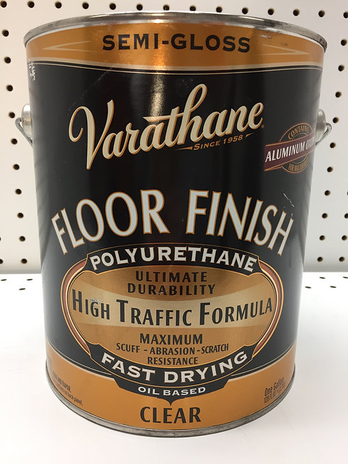 Rustoleum Varathane Floor Finish Polyurethane Oil Based Clear