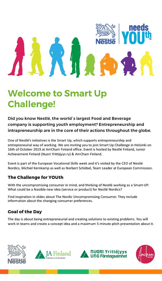 Nestle Smart Up Challenge