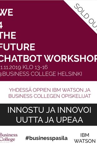 We4thefuture Chatbot Workshop
