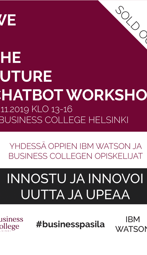 We4thefuture Chatbot Workshop