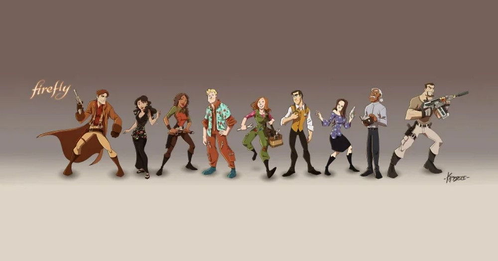 Firefly's Big Damn Heroes by Kristele