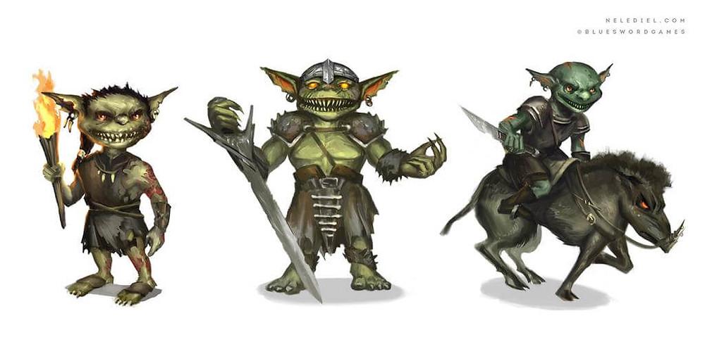 Goblins BY  Nele-Diel