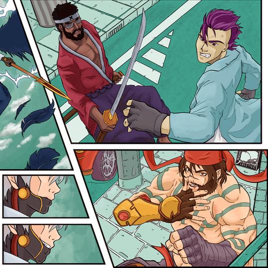 rpg ilustrador odmir fortes escudo do mestre karyuu densetsu.jpg