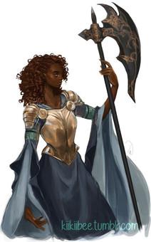Inspiração | Personagens | Femininas | Meio Elfos