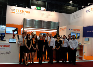 2019 BRNO International Engineering Fair with a new Distributor from Czech Republic - TM Technik
