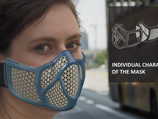 The SMARTTECH3D med scanner helps in creating personalized anti-smog masks