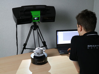 New MICRON3D green stereo industrial scanner