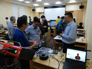 "SMARTTECH3D at the conference ""3D Digitization in Museology"" in Taiwan"