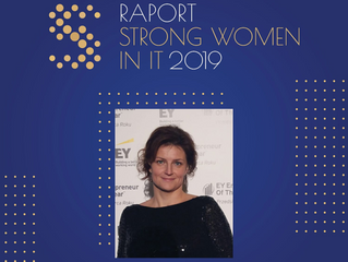 Anna Gębarska in unique report about Strong Women in IT