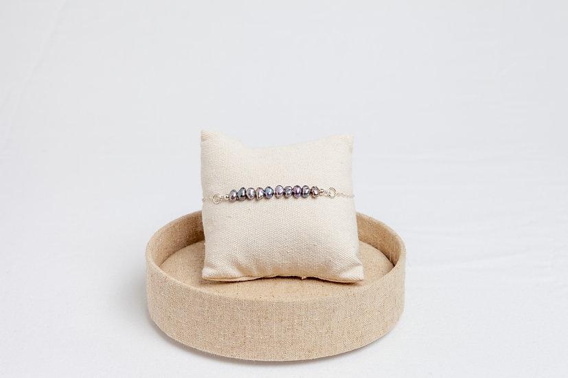 "Armband ""Peacock Pearl"""