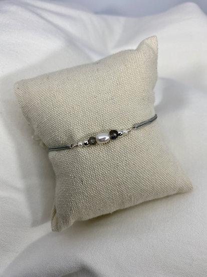 "Armband ""Gray Light"""