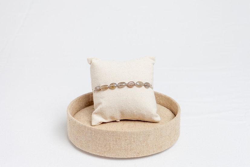 "Armband ""Oval Gray"""