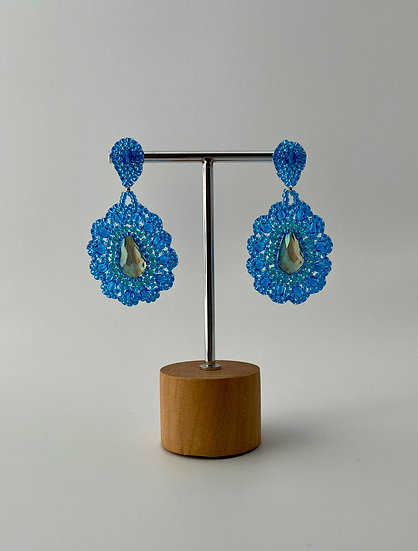 """Ohrringe """"Blue Flower"""""""