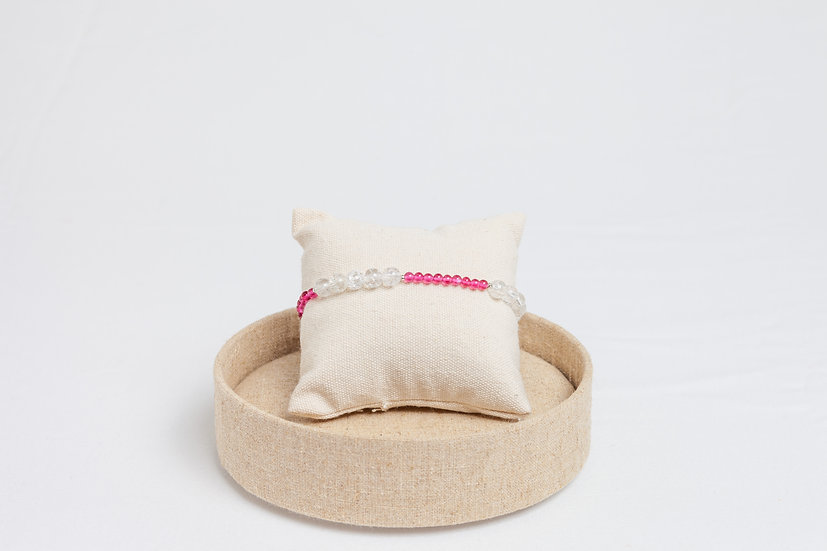 "Armband ""Shattered Pink"""