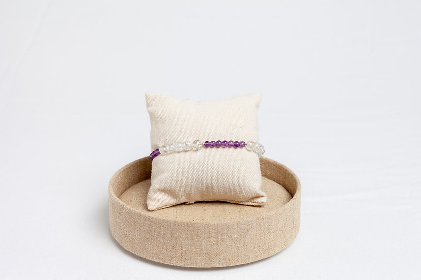 "Armband ""Shattered Lilac"""